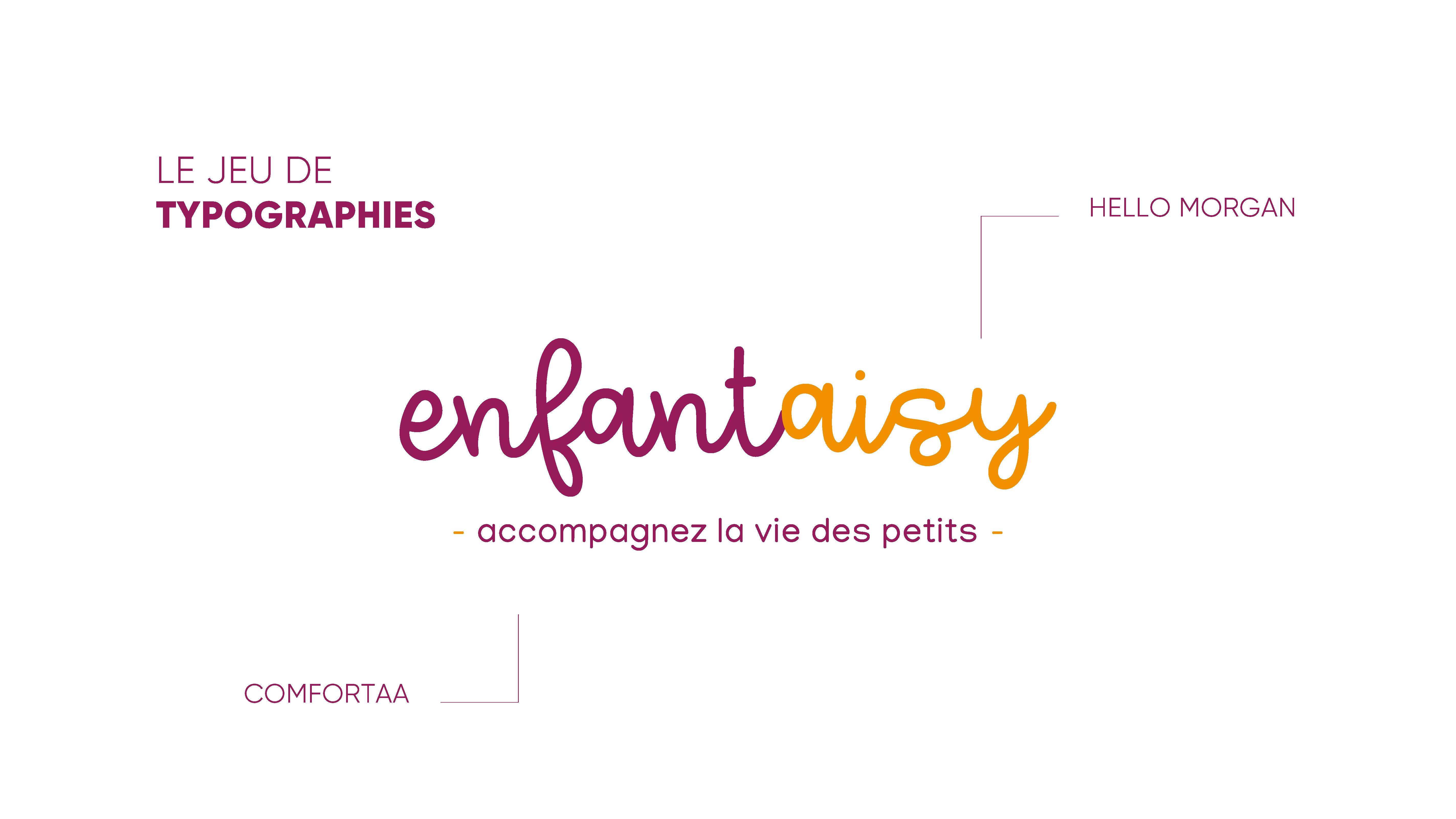 Enfantaisy - Création de logotype, charte graphique et cartes de visite